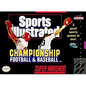 Sports Illustrated Championship Football/Baseball