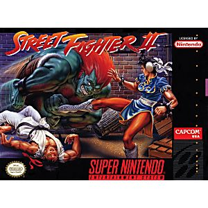 Street Fighter Ii 2 Snes Super Nintendo