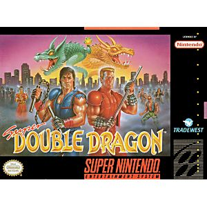 Super Double Dragon Snes Super Nintendo