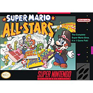 Super Mario All Stars Super Nintendo Game