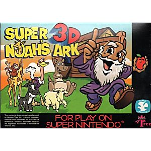 Super Noah's Ark 3-D (original black cart)