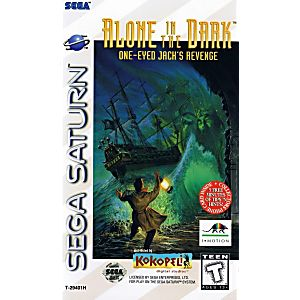 Alone In The Dark Sega Saturn Game