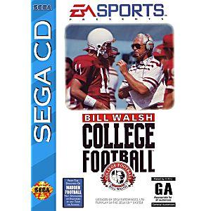 Bill Walsh College Football Sega Cd Game