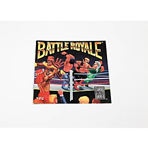 Manual - Battle Royale - TurboGrafx 16