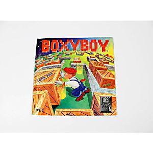 Manual - Boxy Boy TurboGrafx-16