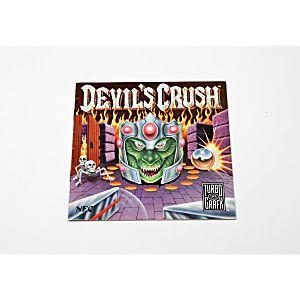 Manual - Devil's Crush TurboGrafx-16
