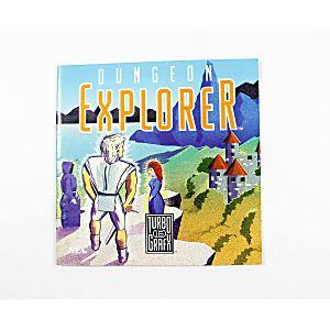 Manual - Dungeon Explorer TurboGrafx-16