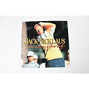 Manual - Jack Nicklaus Turbo Golf - TurboGrafx-16