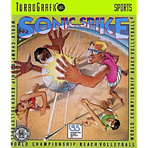 Sonic Spike Volleyball