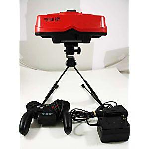 Rare Nintendo Virtual Boy 3D Console With AC Adapter