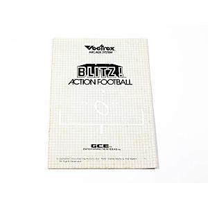Manual - Blitz - Vectrex
