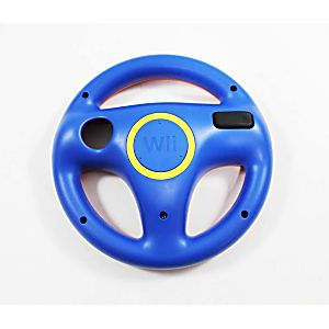 Nintendo Wii U Mario Kart 8 Blue/Red Mario Suit Exclusive Steering Wheel