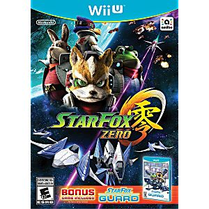 Star Fox Zero With Star Fox Guard Bundle