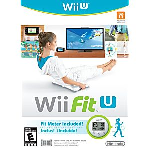 Wii Fit U With Fit Meter