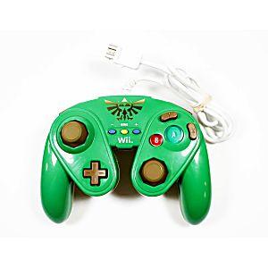 Nintendo Wii U Zelda Green Wired Fight Pad Controller