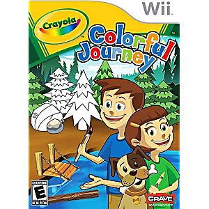 Crayola Colorful Journey Nintendo WII Game
