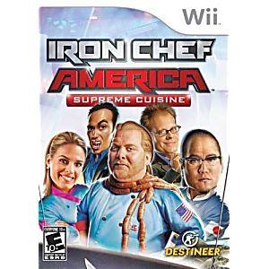 Iron Chef America Supreme Cuisine