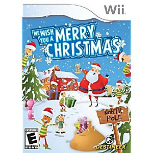 We Wish You A Merry Christmas Nintendo WII Game