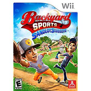 Backyard Sports Sandlot Sluggers backyard sports: sandlot sluggers nintendo wii game