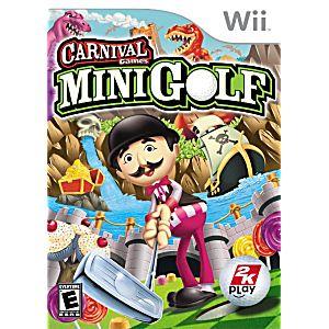 Carnival Games Mini Golf Nintendo Wii Game