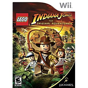 Lego Indiana Jones The Original Adventures Nintendo WII Game beaf5af7a3b