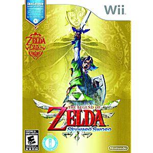 Legend of Zelda: Skyward Sword w/ CD