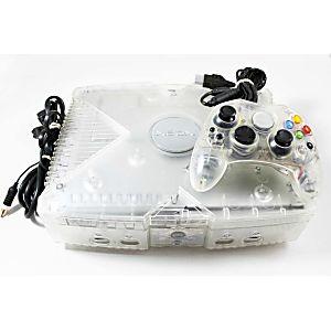XBOX Limited Edition Dark Crystal Smoke Skeleton 8GB System w/ Crystal Controller