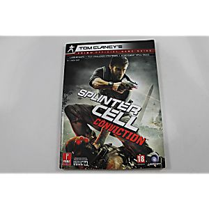 Tom clancy's splinter cell conviction **prima** official game.