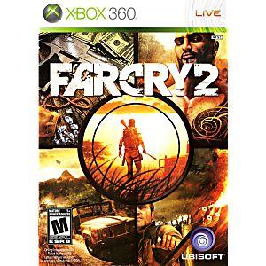 Far Cry 2 Xbox 360 Game