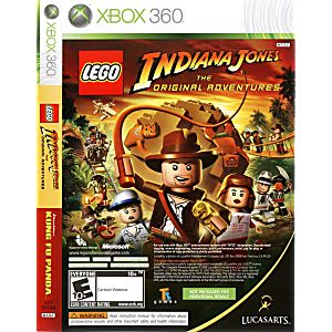 LEGO Indiana Jones and Kung Fu Panda Combo