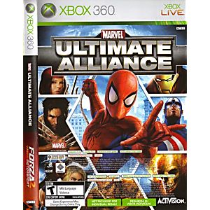 Marvel Ultimate Alliance / Forza 2 Combo
