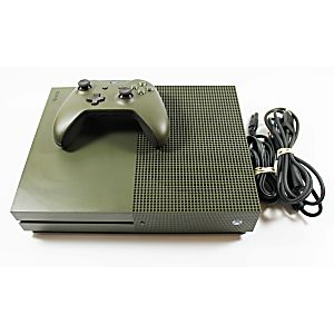 Xbox One S System - Battlefield 1 Military Green Special Edition 1TB