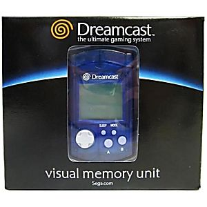 NEW Sega Dreamcast VMU Visual Memory Card