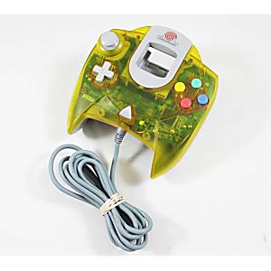Used Original Yellow Dreamcast Controller
