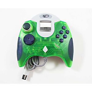 Sega Dreamcast Clear Green Mad Catz Dream Pad