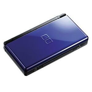used nintendo ds lite system blue and black