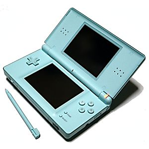 Nintendo DS Lite Ice Blue System - Discounted