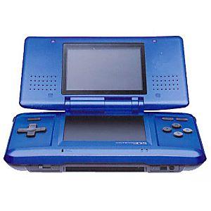 Used Original Nintendo DS System - Cobalt Blue - Discounted
