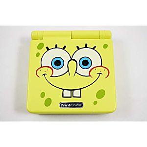 Rare Sponge Bob Game Boy Advance SP System