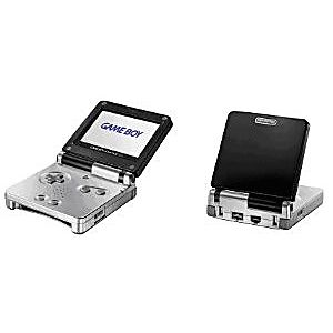 Black/Silver Game Boy Advance SP System