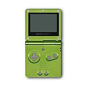 NINTENDO GAME BOY ADVANCE SP LIME GREEN SYSTEM - Discounted
