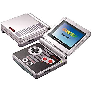 CLASSIC NES LIMITED EDITION GAME BOY ADVANCE SP SYSTEM - Discounted
