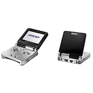 NINTENDO GAME BOY ADVANCE SP Black and Silver System - Discounted