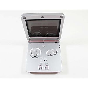 Platinum Game Boy Advance SP System