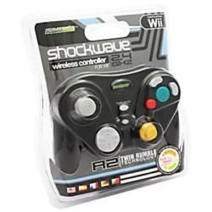Gamecube / Wii Black Wireless Controller