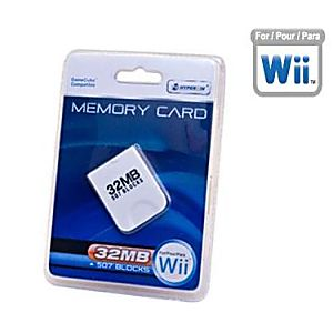 Gamecube / Wii  32 MB Memory Card