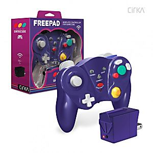 FreePad Wireless GameCube Controller - Purple