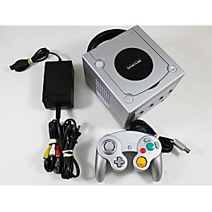 Silver Nintendo Gamecube System