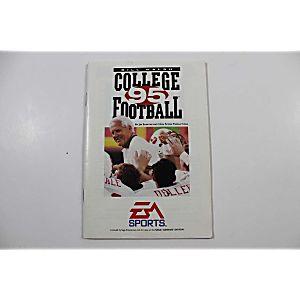 Manual Bill Walsh College Football Sega Genesis
