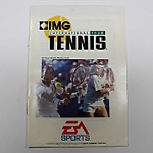 Manual - International Tennis Tour - Sega Genesis